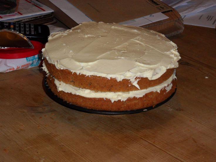 Spiced Ginger Cake