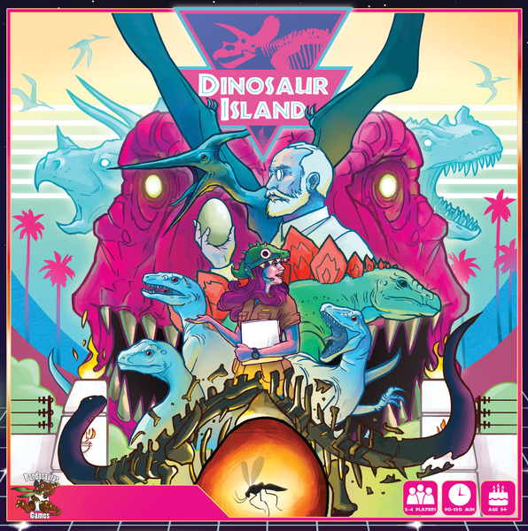 Board Game Geek (https://www.boardgamegeek.com/boardgame/221194/dinosaur-island)
